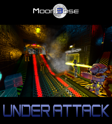 MoonBase 3 Under Attack Poster 2