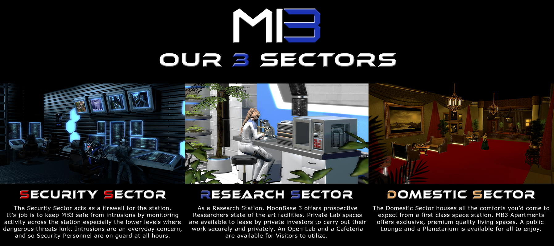 MB3 Our 3 Sectors Sept20